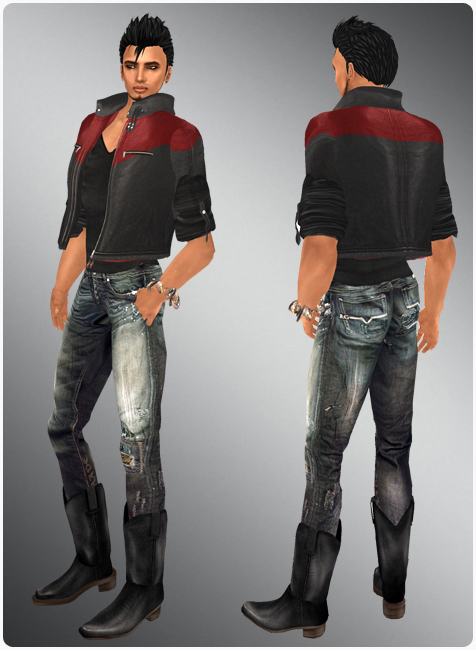 Jeans And Boots Men