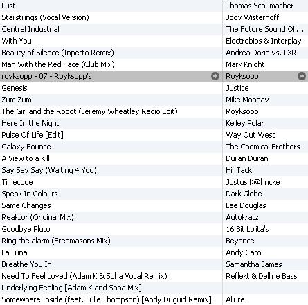KA Show playlist