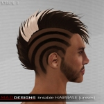 MADesigns HAIRbase ~ STRIPE 1