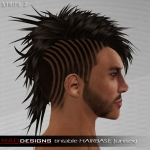 MADesigns HAIRbase ~ STRIPE 2