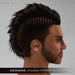 MADesigns HAIRbase ~ STRIPE 3