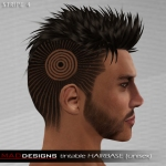 MADesigns HAIRbase ~ STRIPE 4
