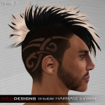 MADesigns HAIRbase ~ TRIBE 7
