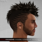 MADesigns HAIRbase ~ TRIBE 8