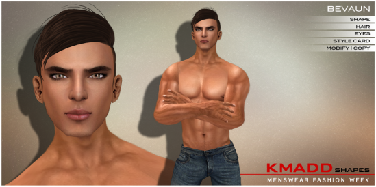 KMADD Shapes MWFW ~ BEVAUN