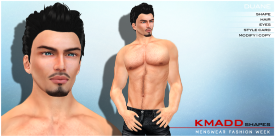 KMADD Shapes MWFW ~ DUANE
