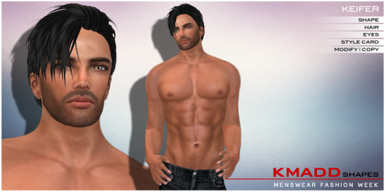 KMADD Shapes MWFW ~ KEIFER
