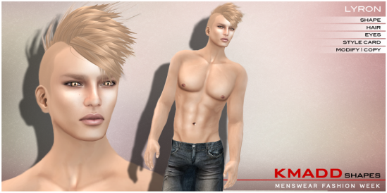 KMADD Shapes MWFW ~ LYRON