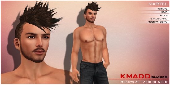 KMADD Shapes MWFW ~ MARTEL