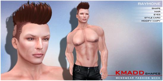 KMADD Shapes MWFW ~ RAYMONE