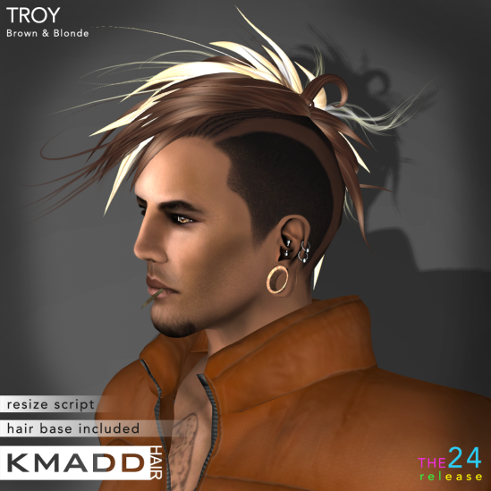 KMADD Hair ~ TROY ~ Brown & Blonde