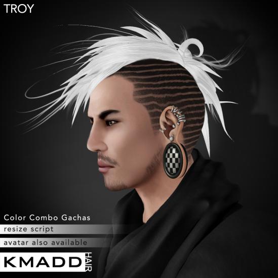 KMADD Hair ~ TROY