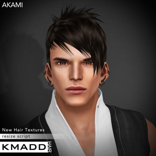 KMADD Hair ~ AKAMI