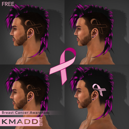 KMADD Hair ~ Breast Cancer Awareness