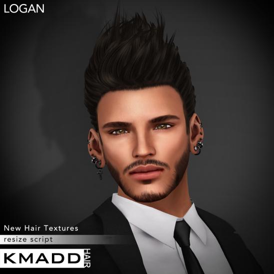 KMADD Hair ~ LOGAN