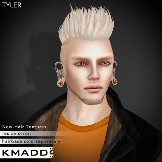 KMADD Hair ~ TYLER