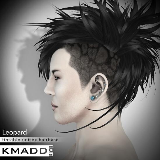 KMADD Hairbase ~ Leopard