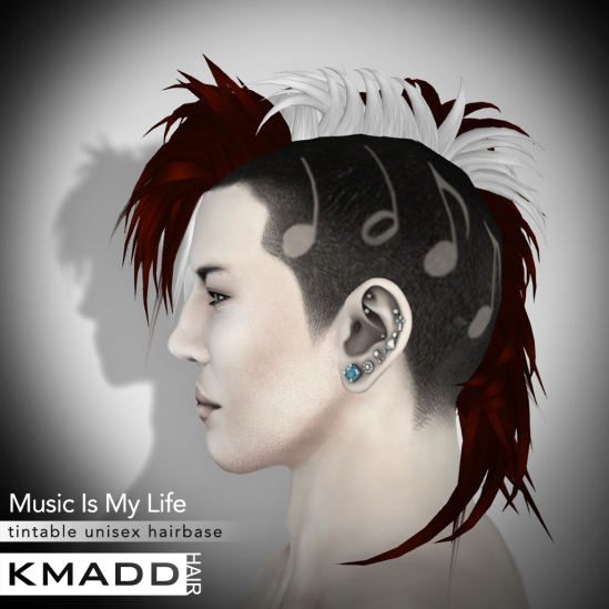 KMADD Hairbase ~ Music Is My Life