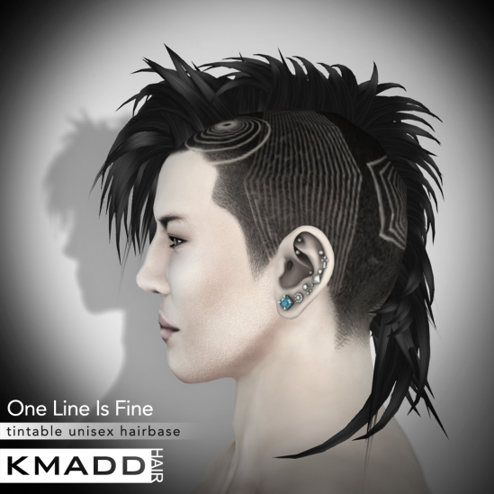 KMADD Hairbase ~ One Line Is Fine