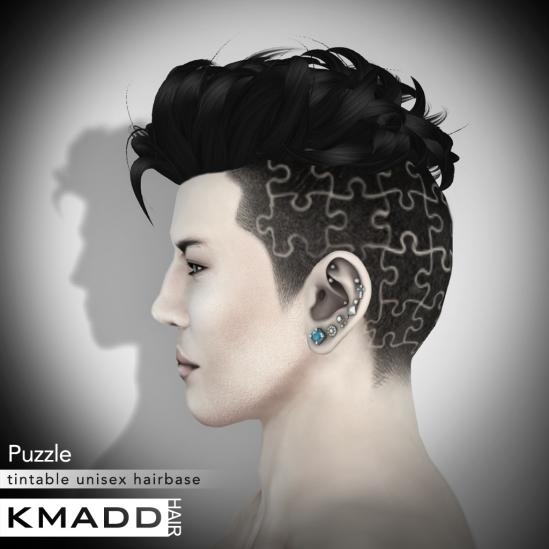 KMADD Hairbase ~ Puzzle