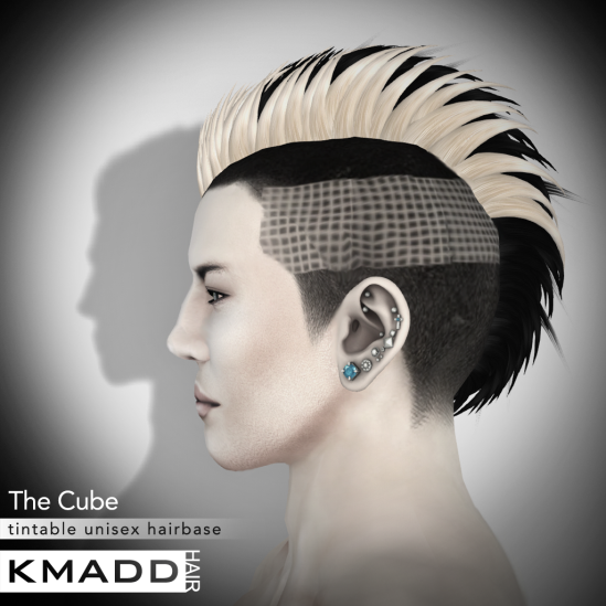 KMADD Hairbase ~ The Cube