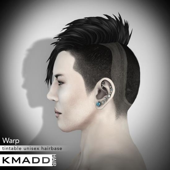 KMADD Hairbase ~ Warp