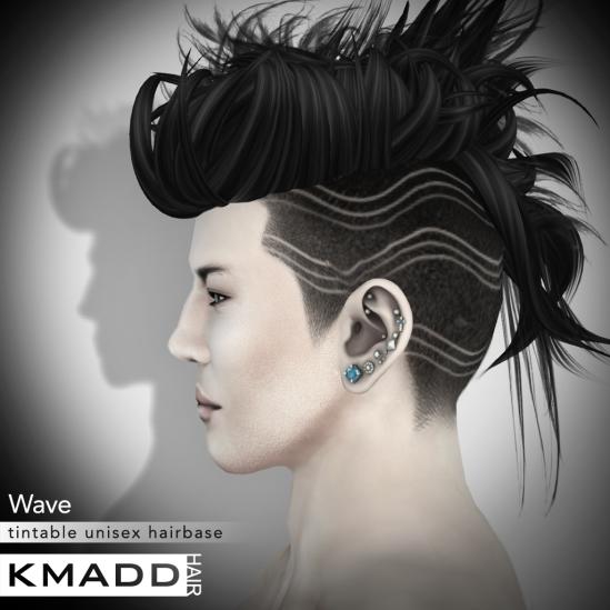 KMADD Hairbase ~ Wave