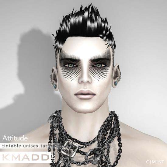 KMADD Tattoo ~ Attitude
