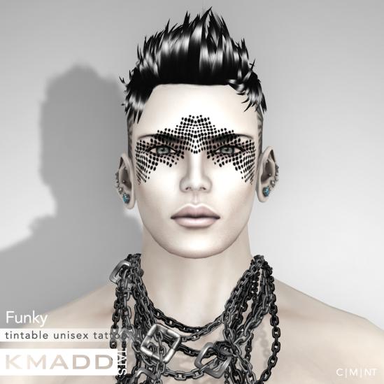 KMADD Tattoo ~ Funky