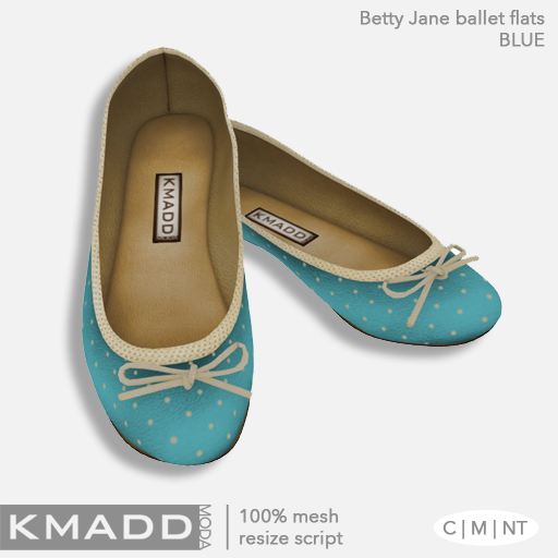 KMADD Moda ~ Betty Jane ~ Blue