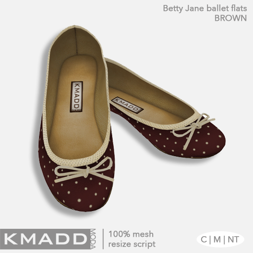 KMADD Moda ~ Betty Jane ~ Brown