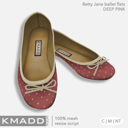 KMADD Moda ~ Betty Jane ~ Deep Pink