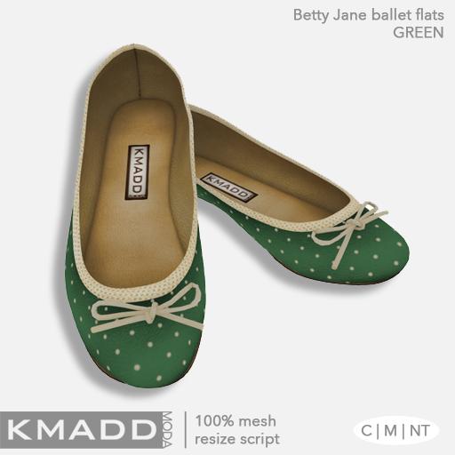 KMADD Moda ~ Betty Jane ~ Green