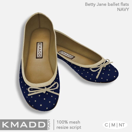 KMADD Moda ~ Betty Jane ~ Navy