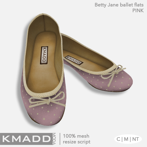 KMADD Moda ~ Betty Jane ~ Pink