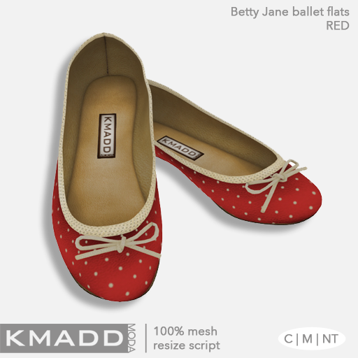 KMADD Moda ~ Betty Jane ~ Red