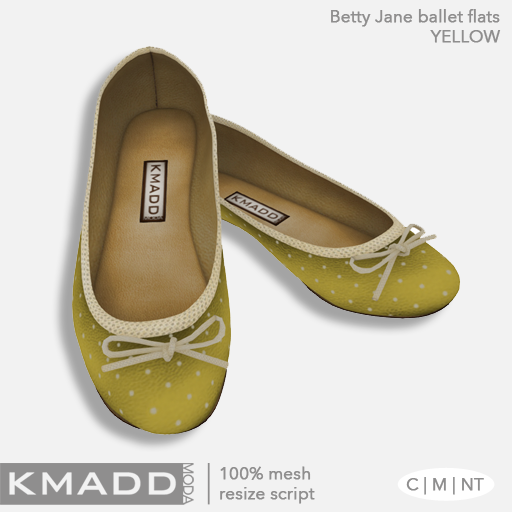 KMADD Moda ~ Betty Jane ~ Yellow