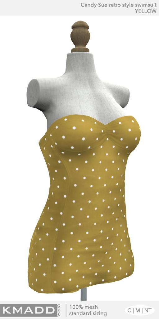 KMADD Moda ~ Candy Sue ~ Yellow