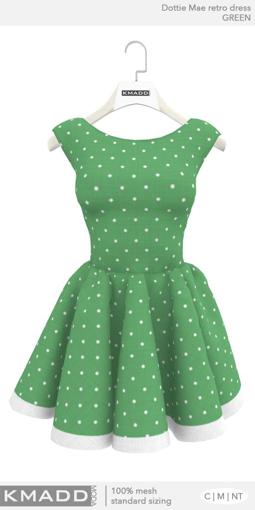 KMADD Moda ~ Dottie Mae ~ Green
