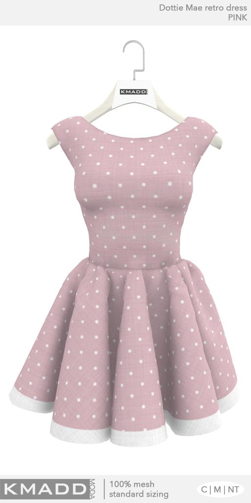 KMADD Moda ~ Dottie Mae ~ Pink