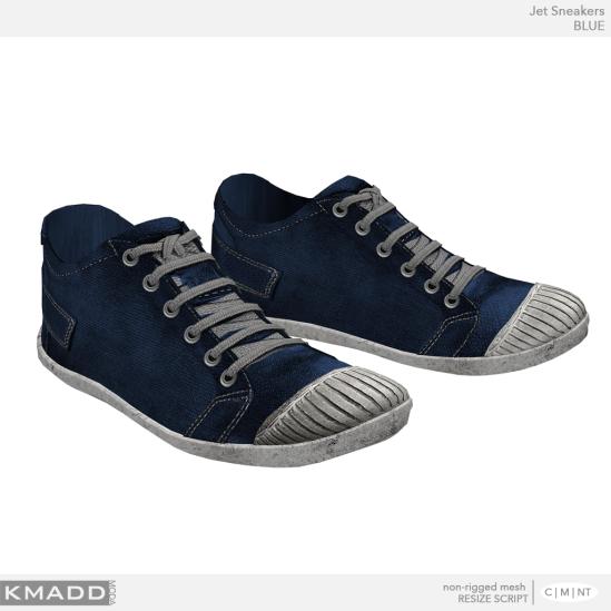KMADD Moda ~ Jet Sneakers ~ BLUE